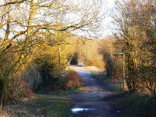 Swindon, Cycle route 45, Wiltshire © Brian Robert Marshall